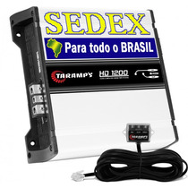 Modulo Amplificador Taramps Hd 1200 Rms Digital + Sedex