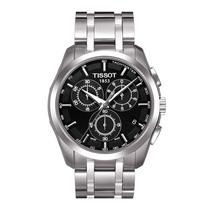 Relógio Tissot Couturier Preto Pulseira De Aço 12 X Sem Juro