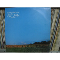 Lp George Winston Autumn Piano Solos Exx Estado