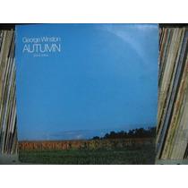 Lp George Winston Autumn Piano Solos Exx Estado