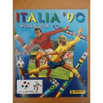 Album Copa Do Mundo Italia 1990 Panini Impresso