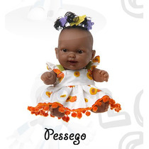 Coleção Frutinhas - Boneca Com Essência De Pessego
