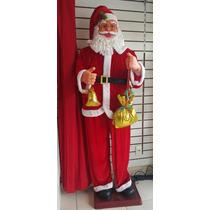 Boneco Grande Papai Noel 1,80m Tamanho Humano Natal Enfeite