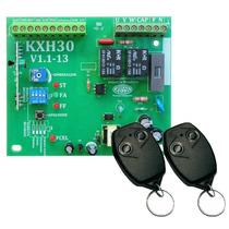 Central Comando P/ Portão Eletrônico Kxh30 + Controle Rossi