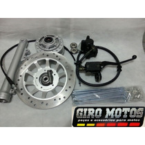 Kit Freio Á Disco Honda Titan / Fan / Mix 150 04/14 Completo