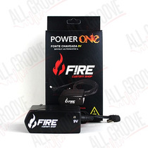 Fonte Pedais Pedaleira Power One 9v Dc 1a Fire Custom Shop