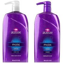 Kit Aussie Moist Shampoo + Condicionador 865ml