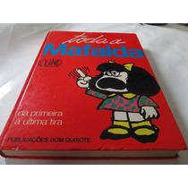 Livro Toda A Mafalda Quino Dom Quixote Anos 80