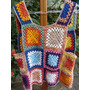 Colete Em Croche Hippie Chic