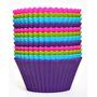 Forma Cupcake Com 12 Peças Silicone Mini - Muffins