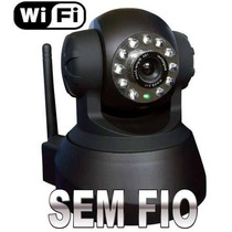 Câmera Para Monitoramento De Imagens Sem Fio Ip Wireless