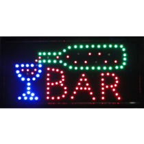 Placa De Led Letreiro Luminoso Bar 1602 220v