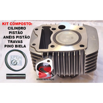 Cilindro Motor Vini Biz125 Injeção 09 À 14 Serjaomotopecas