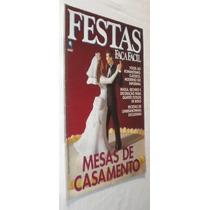 Revista Festas Faça Facil Com Moldes Mesas Casamento -