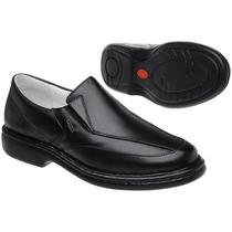 Sapato Antistress Couro Legítimo - Grátis Cinto Couro