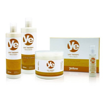Ye Liss Therapy Kit Escova Sete Óleos - Alfaparf - Yellow
