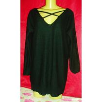 Vestido Feminino De Vesta Em Lã Tamanho Grande Novo