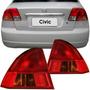 Par Lanterna Traseira Honda Civic 2001 2002 2003 Par