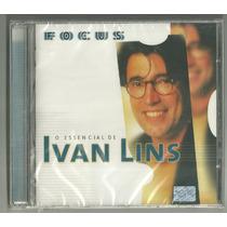Cd-ivan Lins-focus O Essencial-1999-bmg-20 Sucessos-lacrado.