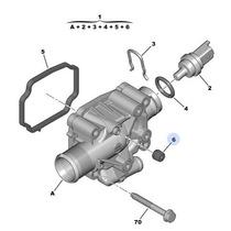 Valvula Termostática C/carcaça 206 207 307 308 C3 C4 1.6 16v
