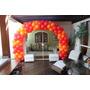 Kit: Arco Desmontavel Com Base Mdf- Decoração Com Balões