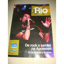 Livro Guia Oficial Do Rio De 2013 - Em Inglês E Português.