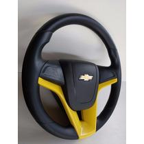 Volante Cruze Amarelo Corsa Wind/wagon + Classic + Celta