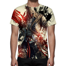 Camisetas 3d: Games, Jogos, Estampa Total - Games 01