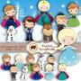 Complemento Kit Scrapbook Digital - Frozen