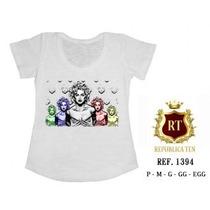 Camisetas T-shirts Blusas Femininas Menor Preço - Estampas