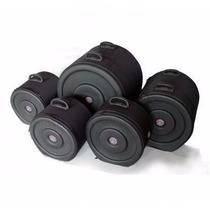 Semi Case Luxo Para Kit De Bateria 5 Peças - Solid Sound