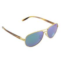 Óculos Feminino Oakley Tie Breaker Polished Gold Jade Iridiu