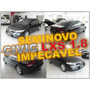 Civic Lxs 1.8 Flex Automatico Ano 2008 - Seminovo Impecável