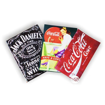 Placas Decorativas Vintage Retrô Coca-cola Pin-ups Harley
