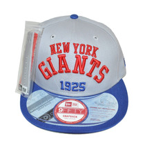 Boné New Era Aba Reta Snapback Aberto Nfl New York Giants