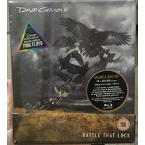 David Gilmour - Box Rattle That Lock Cd + Blu-ray - Lacrado