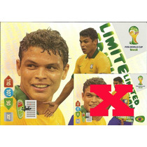 Cards Copa 2014 Adrenalyn Thiago Silva Limited Edition Xxl