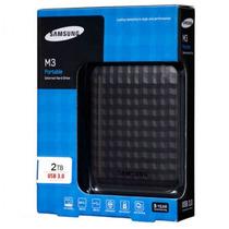Hd Externo 2tb Samsung M3 Usb 3.0 Slimline Ñ Precisa Fonte