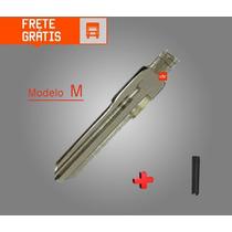 Lamina P/ Chave Canivete Gm Astra Corsa Monza Kadett C/ Pino