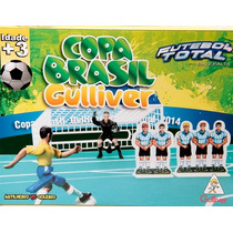 Futebol Total Estilo Bate Falta Copa Brasil Botão - Gulliver