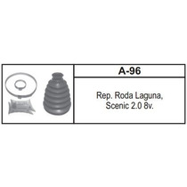 Kit Coifa Homocinética Scenic Laguna 2.0 8v - Lado Roda