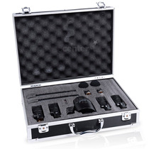 Kit De Microfones Para Bateria Stagg Dms 5700h Com Case