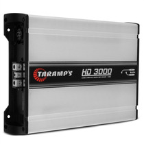 Módulo Taramps Hd 3000 3000w Rms 1 Canal 1 Ohms Amplificador