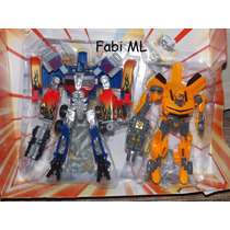 Transformers Optimus Prime-leader Class X Bumblebee