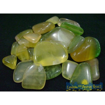 Fluorita Amarela Unid. 2cm Pedra Gema Natural Polida Coleção