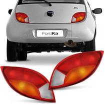Par Lanterna Ford Ka Ford 1997 1998 1999 Tricolor Novo