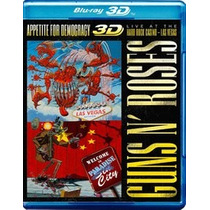 Guns N´roses - Appetite For Democracy - Blu Ray 3d/2d