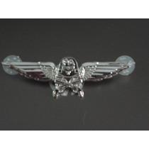 Distintivo De Metal Polícia Da Aeronáutica Pa