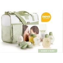 Modelo Novo! Kit Natura Mamãe E Bebê Bolsa Com Trocador