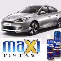 Tinta Spray Automotiva Renault Prata Etoile + Verniz 300ml